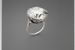 Bague Diamant Cameleon - 25,85carats Fancy VS1 - Adjugé : 626.000€