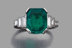 Bague Emeraude - 3,71carats - Adjugé : 34.000€