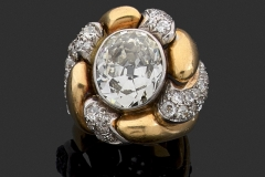 Belperron - Bague Tourbillon Diamants - Adjugé : 58.000€