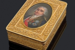Boite en or jaune Gabriel Raoul MOREL-  Paris 1819-1838 - Adjugé : 73.000€