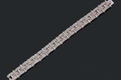 Cartier - Bracelet Diamants -  Vers 1930-1935 - Adjugé : 67.000€