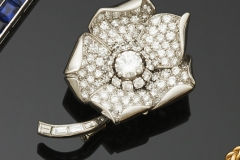 Boucheron - Broche  diamants - Adjugé :  6.200e