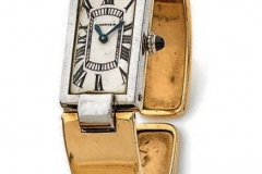 CARTIER - Montre de dame or - Vers 1920-1930  - Adjugé : 11.000€