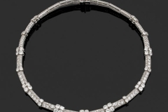 CARTIER - Collier Diamants - Adjugé : 36.000€