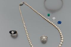 Collier Perles fines
