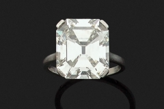Bague Diamant - 8.36 carats I VVS2 - Adjugé :114.000€
