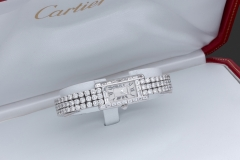 CARTIER - Montre  Diamants - Adjugé : 28.000€
