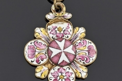 Pendentif or - Probablement Espagnol - XVIIIeme siècle - Adjugé :  4.200€