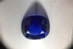 Saphir Cachemire -  6.82 carats - Adjugé : 375.000€