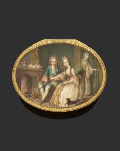 Boite or Louis Roucel & Jean Baptiste Le TELLIER