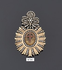 N°94 pendentif ordre de Saint Jacques Espagne XIXe - E&S PORTIER