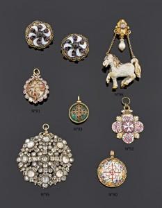 bijoux espagnols- XVIIe - E&S PORTIER