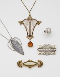 Bijoux Lalique Art Nouveau MAREDSOUS