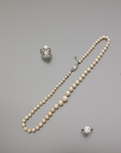 collier perles fines