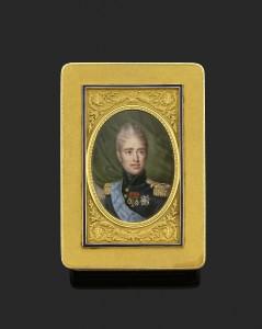Boite Charles X, PARIS 1819-1838, Orfèvre : Gabriel Raoul MOREL