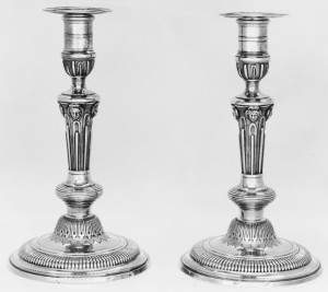 JEAN MAUZIE - Paris 1734-1735 - Flambeaux - MET