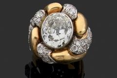 Belperron - Bague Tourbillon Diamants - Adjugé : 58.000€