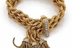 Bracelet or Diamants - Adjugé : 4.400€