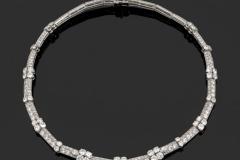 CARTIER - Collier Diamants - Adjugé : 36.000€