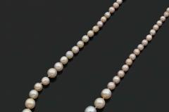 Collier Perles Fines  - Adjugé 13.000€