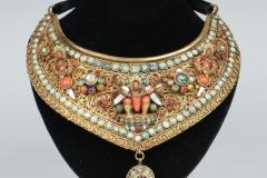 Colliers argent - Travail Indien - Adjugé : 3.700€