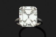 Bague Diamant - 8.36 carats I VVS2 - Adjugé :114.000€