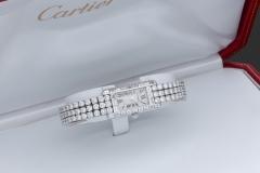 CARTIER - Montre  Diamants - Adjugé : 28.000€